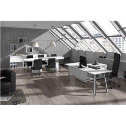 Mesa y mesa de reuniones serie At HER